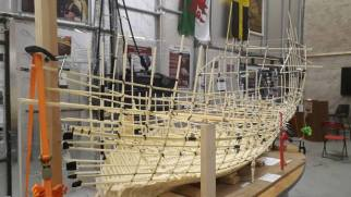 Newport Ship Model - Credit - Ted Richards