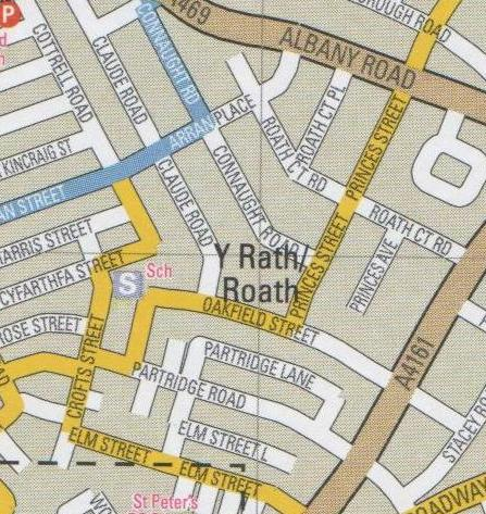 Roath on Council map
