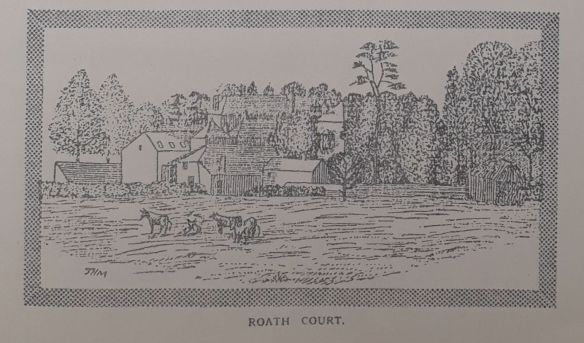Volume 1 Number 2 Roath Court Sketch