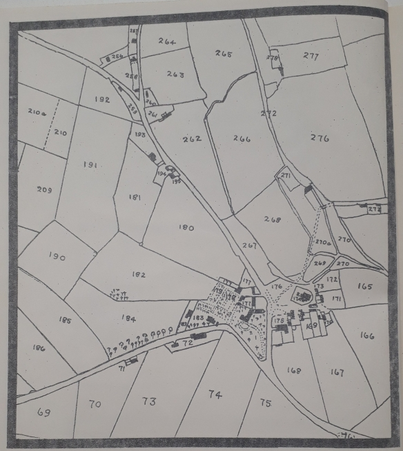 Volume 1 Number 2 Selection of Tithe Map 1840 - Map only