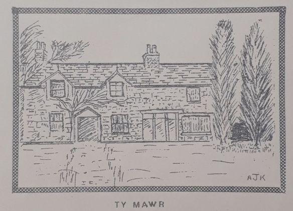Volume 1 Number 2 Ty Mawr sketch