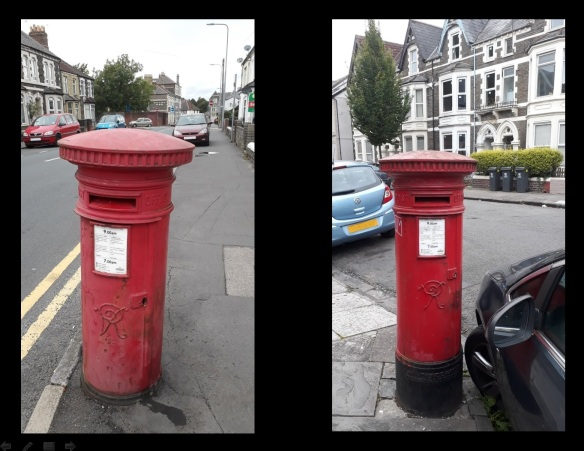 Cardiff Victorian Post Boxes 1
