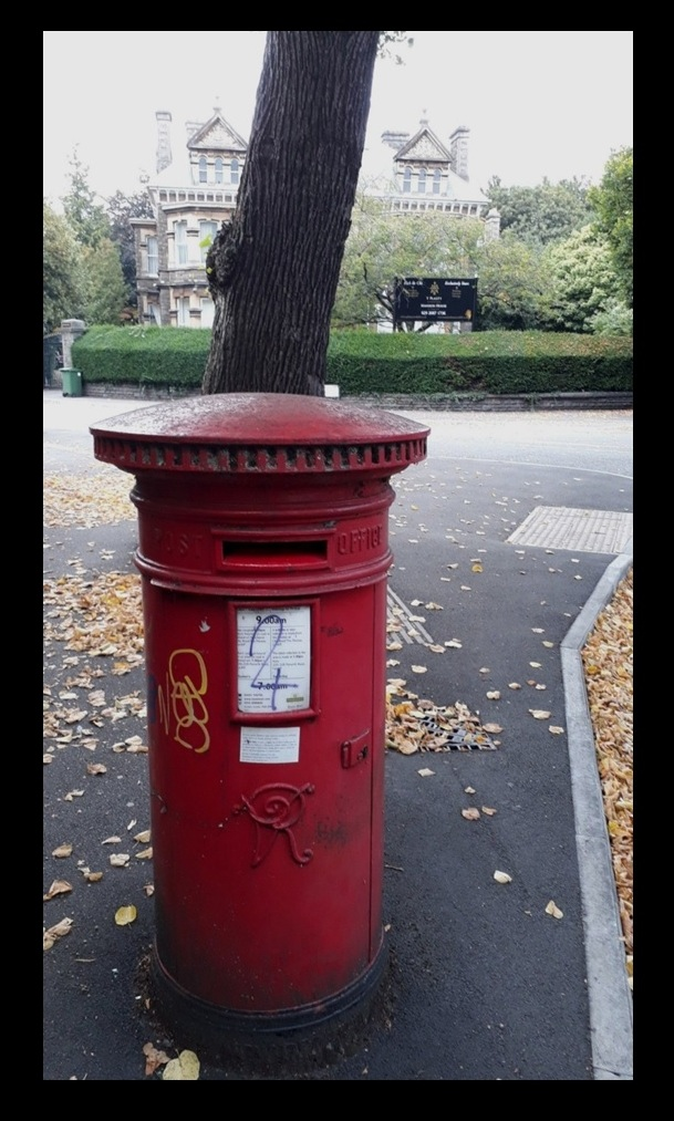 Cardiff Victorian Post Boxes 11