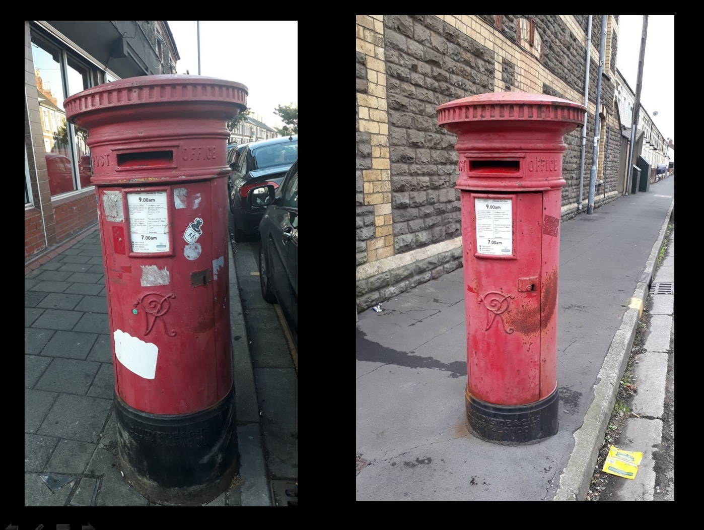 Cardiff Victorian Post Boxes 2