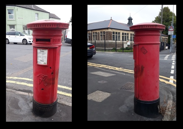 Cardiff Victorian Post Boxes 3