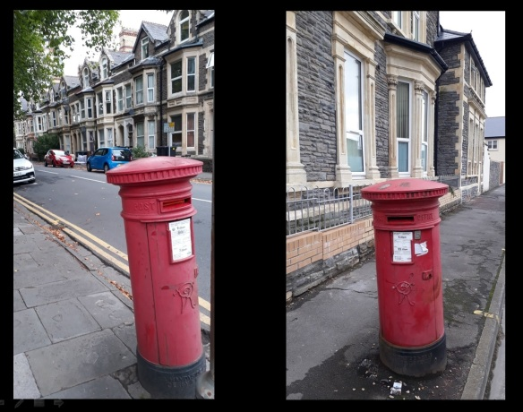 Cardiff Victorian Post Boxes 4