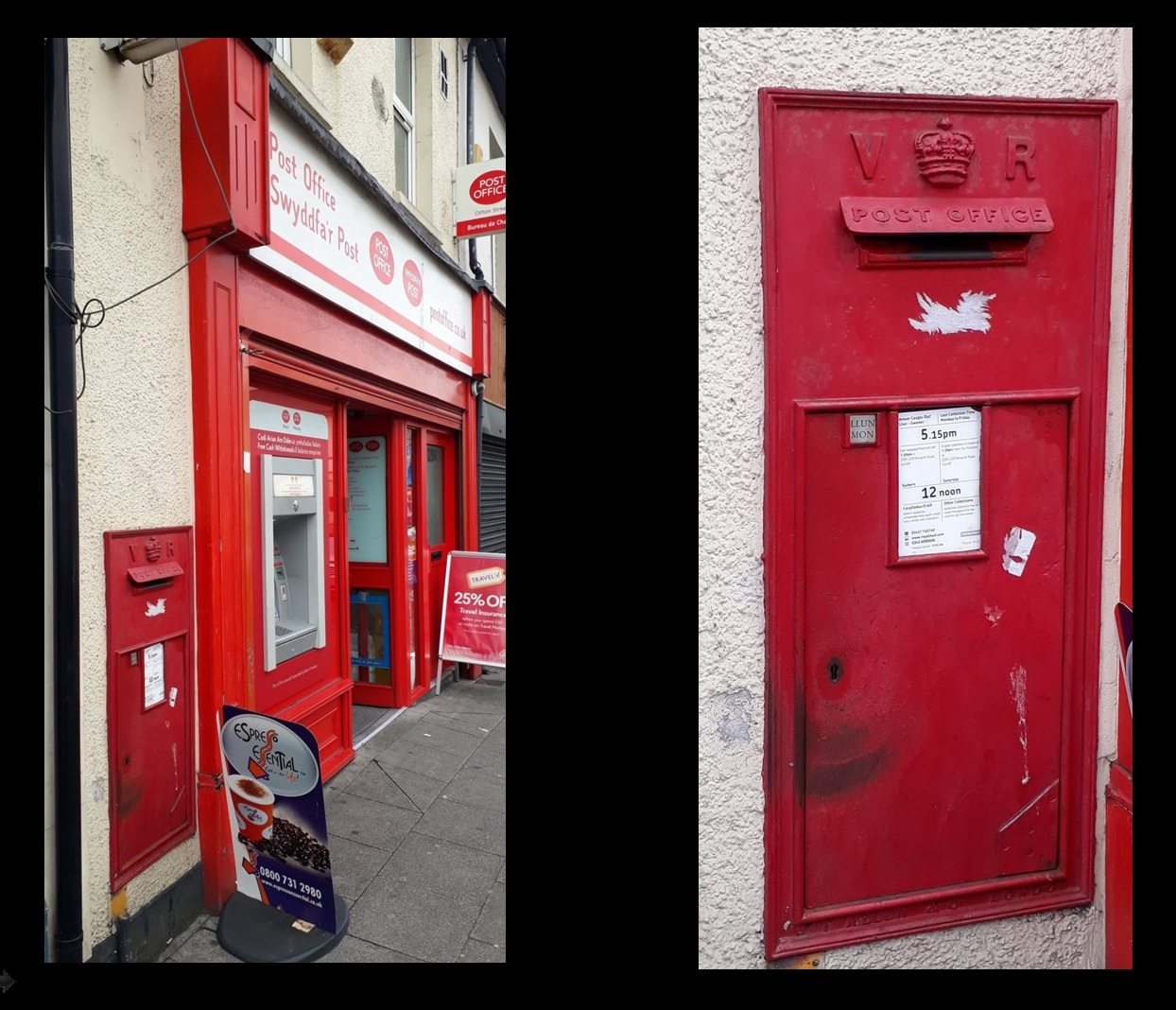 Cardiff Victorian Post Boxes 7