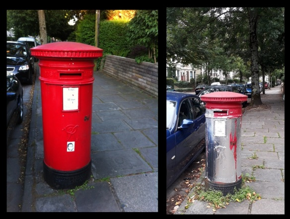 Cardiff Victorian Post Boxes 9