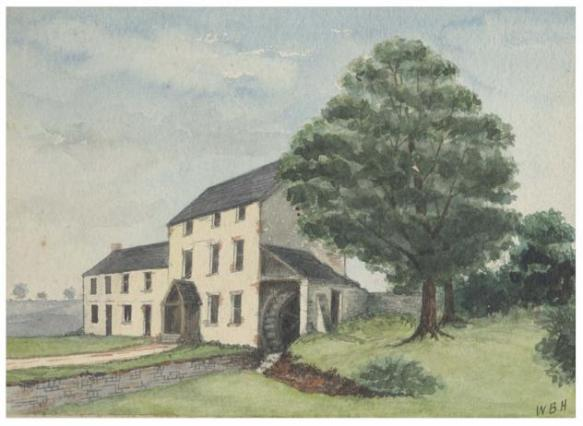 Roath Mill - W B Hodkinson - 1878 - Cardiff Libraries