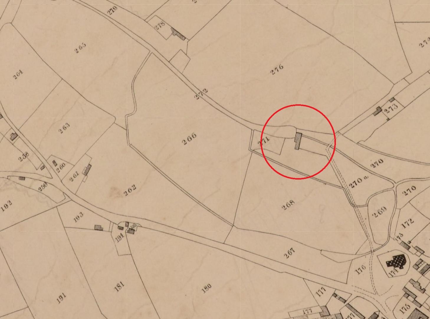 Roath Tithe map of 1840