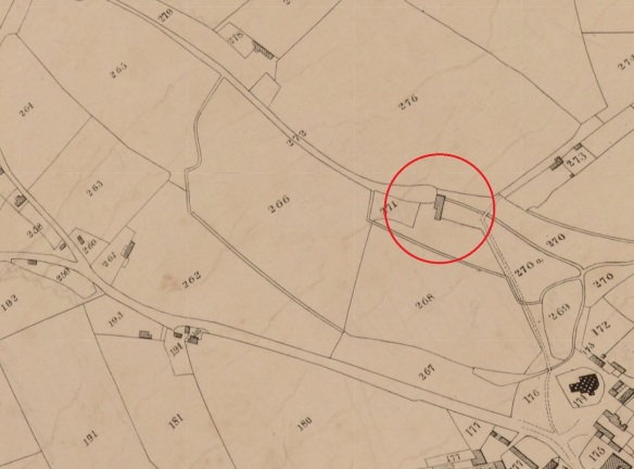 Roath Tithe map of 1840