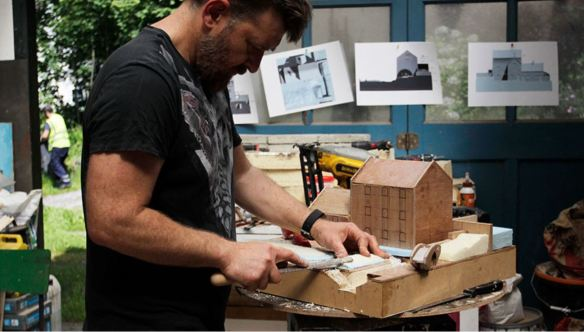Rubin Eynon working on Roath Mill