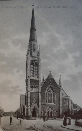 St Andrew's Church, Cardiff. c. 1910