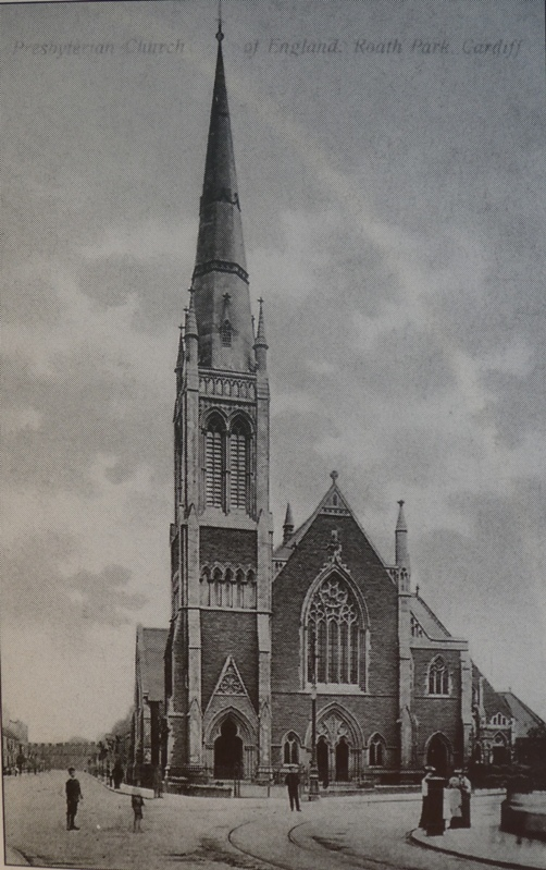 St Andrew's Church, Cardiff. c. 1910