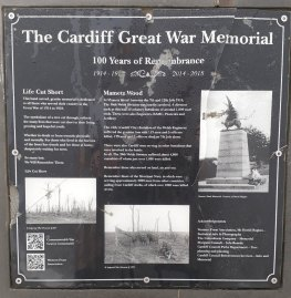 Hendre Lake Memorial plaque