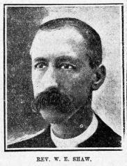 Rev W E Shaw