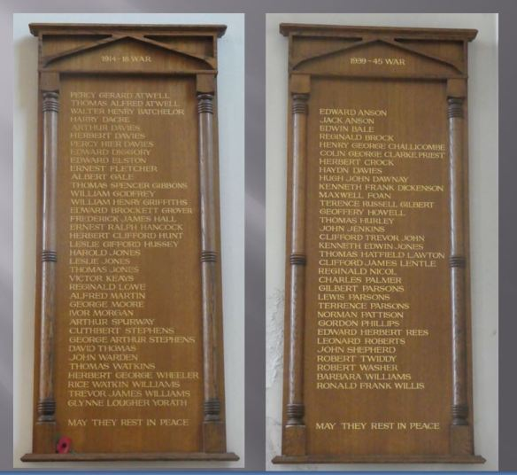 St Martins Albany Road - combined war memorials