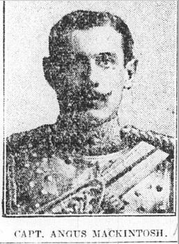 Captain Angus Mackintosh