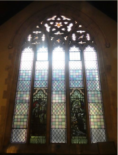 Broadway Methodist Church Memorial Windows later reinstalled at Trinity Methodist Church