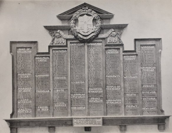 Oddfellows Memorial Cardiff