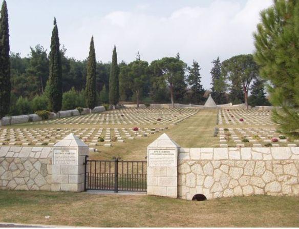 karasouli military cemetery greece lewis prosser