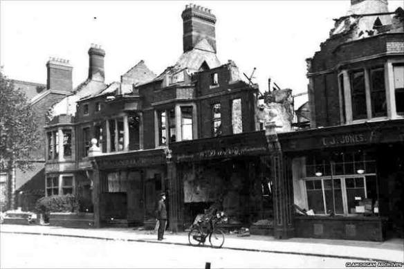 penylan road bomb damage