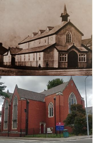 St Edward's Westville Road Penylan old and new
