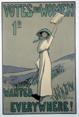 Votes for Women 1911 poster