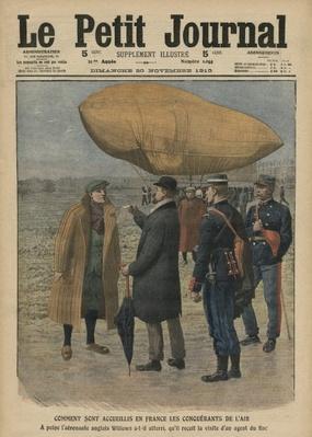Ernest Willows arrives in France