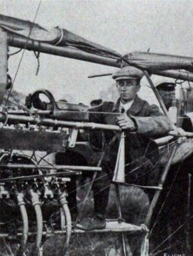 Ernest Willows sets off from Cardiff to London