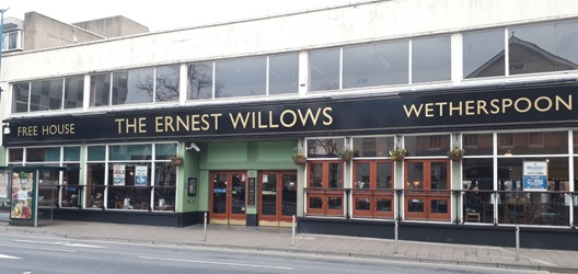 Ernest Willows Wetherspoons