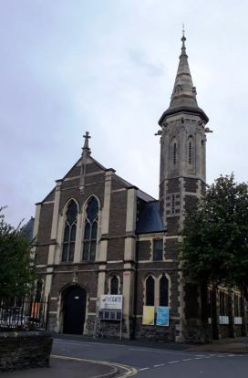 Plasnewydd Presbyterian Church, Keppoch Street - Ted Richards