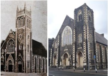 Tabernacle church old and new