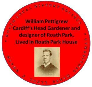 WIlliam Pettigrew red plaque