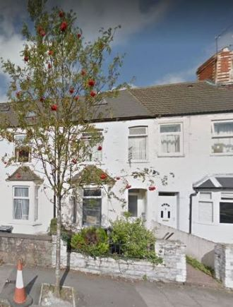 31 Harriet Street, Cathays, Cardiff, home of William Crossman