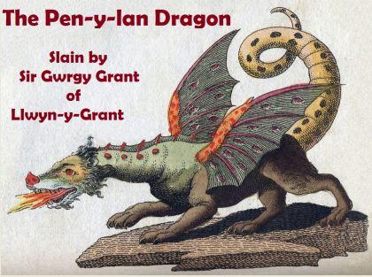Pen-y-lan Dragon small