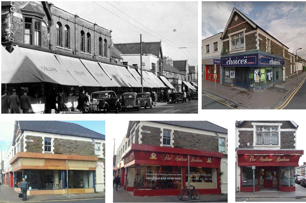 Andrew Buchan, Albany Road, Roath, Cardiff