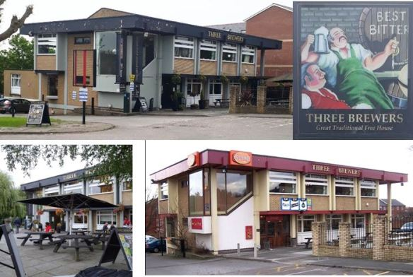 Three Brewers, Colchester Avenue, Cardiff hisotry collage