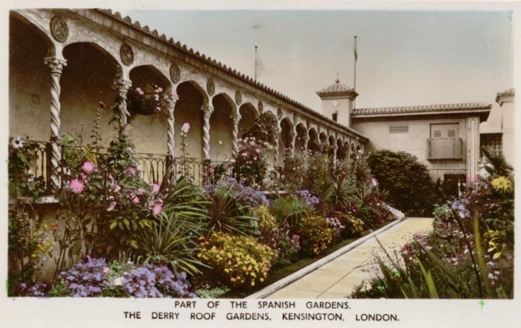 Derry Roof Gardens Kensington London