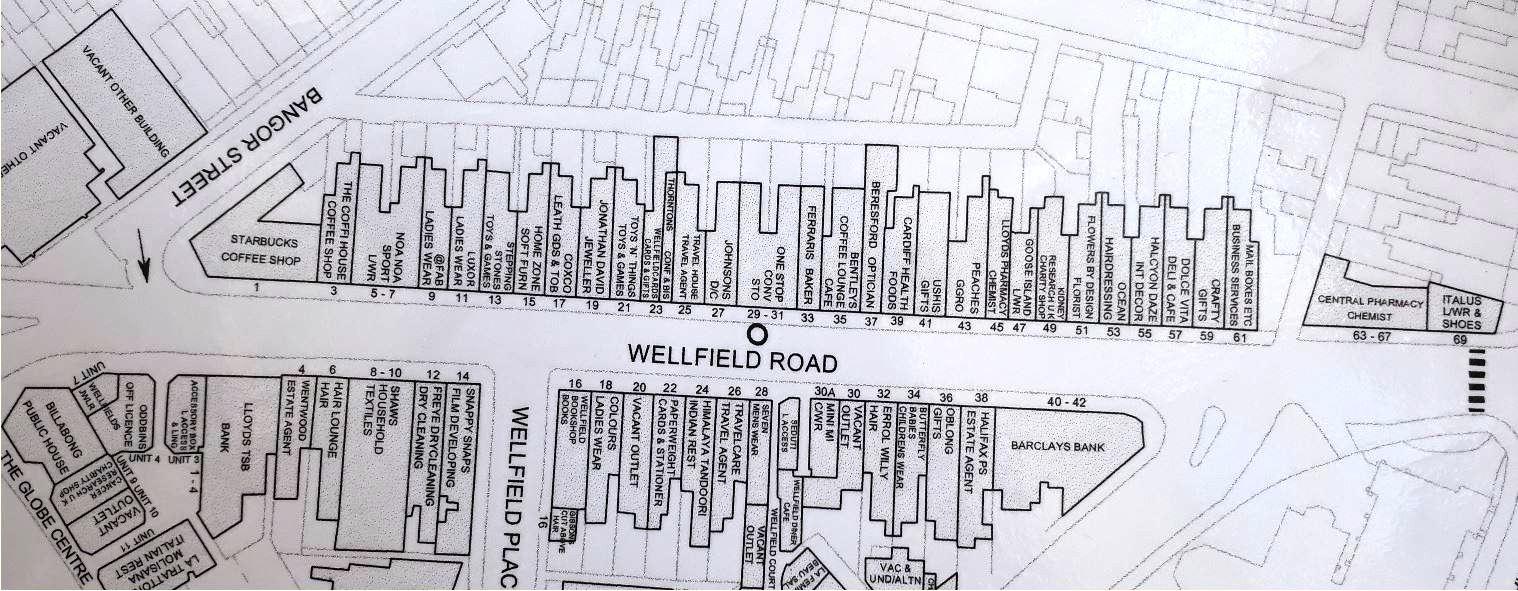 Wellfield Rad, Cardiff plan 2006