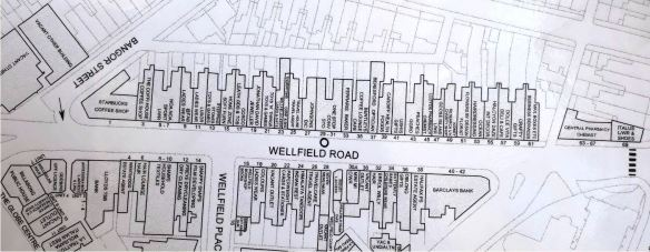 Wellfield Rad, Cardiff plan 2006