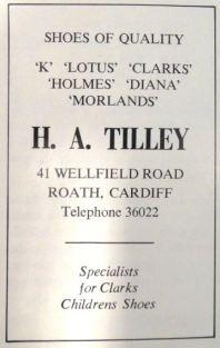 H A Tilley Advertisement small
