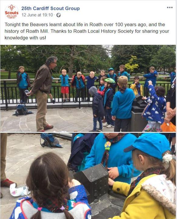 Roath Mill Beavers talk