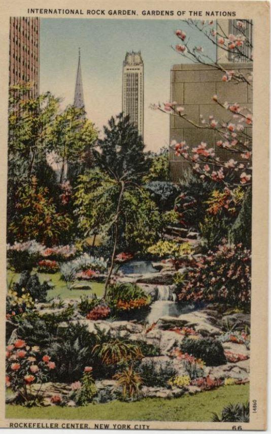 Rockefeller Centre Garden