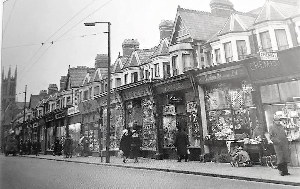 Wellfield Road, Cardiff history