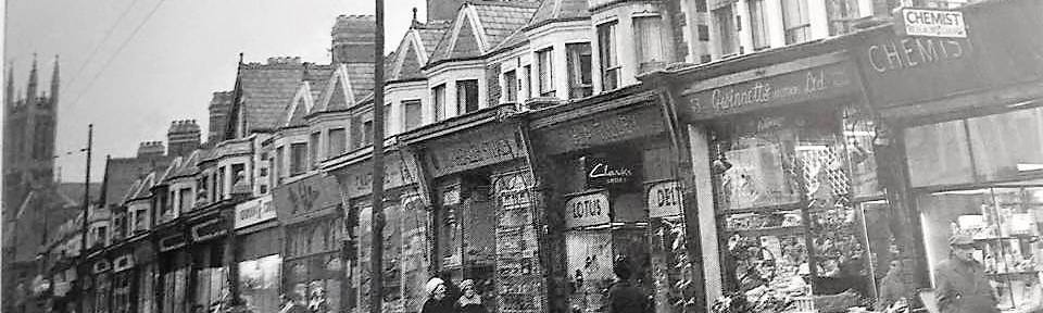 Wellfield Road, Cardiff history