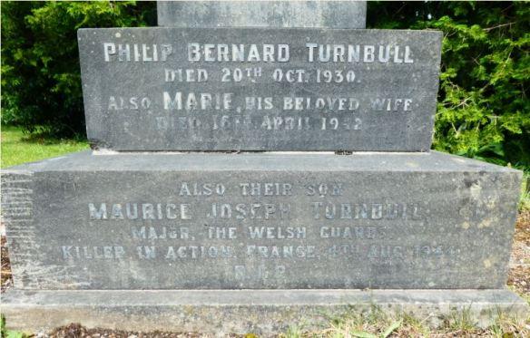 Maurice Turnbull Cathays Cemetery Plot C 1853
