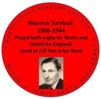 Maurice Turnbull - red plaque