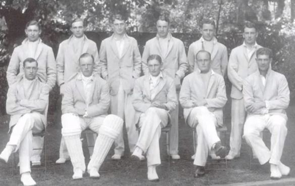Maurice Turnbull - in the Cambridge cricket team