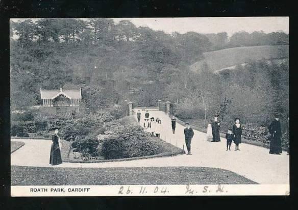 Roath Park Botanical Gardens 1904